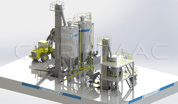 5-30t/h Dry Mortar Production Line