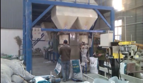Two dry mortar production lines