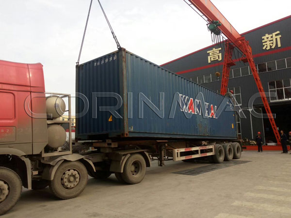 Doulbe-shaft mixing line shipped to Philippine.