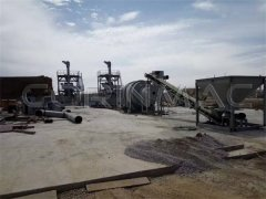 Dry mortar production line 10-20t/h
