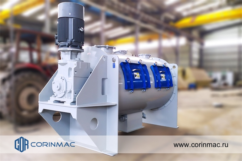 Single shaft plowshare mixer and Dry mixes mini-plant of 3-5tph were shipped in Almaty, Kazakhstan.