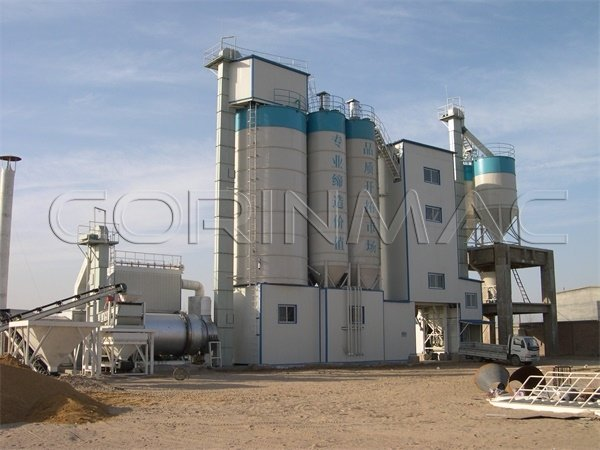 Dry mortar tower production line 20-50t/h