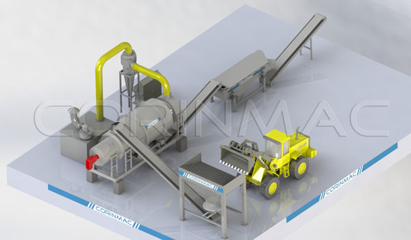 Drying production line